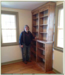 cabinet maker Ryk Nelson